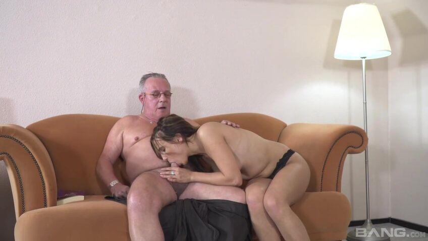 Older man having sex with older man